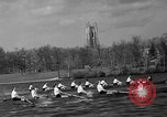 Image of shell boat crew Wellesley Massachusetts USA, 1936, second 40 stock footage video 65675051380