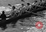Image of shell boat crew Wellesley Massachusetts USA, 1936, second 44 stock footage video 65675051380