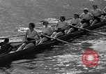 Image of shell boat crew Wellesley Massachusetts USA, 1936, second 45 stock footage video 65675051380