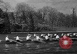 Image of shell boat crew Wellesley Massachusetts USA, 1936, second 47 stock footage video 65675051380