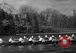 Image of shell boat crew Wellesley Massachusetts USA, 1936, second 48 stock footage video 65675051380