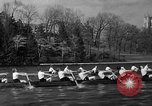 Image of shell boat crew Wellesley Massachusetts USA, 1936, second 49 stock footage video 65675051380