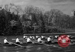 Image of shell boat crew Wellesley Massachusetts USA, 1936, second 50 stock footage video 65675051380