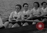 Image of shell boat crew Wellesley Massachusetts USA, 1936, second 53 stock footage video 65675051380