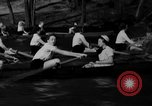 Image of shell boat crew Wellesley Massachusetts USA, 1936, second 56 stock footage video 65675051380