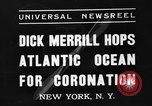 Image of Dick Merrill New York United States USA, 1937, second 2 stock footage video 65675051403