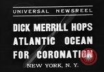 Image of Dick Merrill New York United States USA, 1937, second 5 stock footage video 65675051403