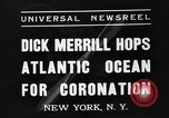 Image of Dick Merrill New York United States USA, 1937, second 8 stock footage video 65675051403