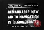 Image of Hagner position finder San Antonio Texas USA, 1937, second 2 stock footage video 65675051411