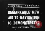 Image of Hagner position finder San Antonio Texas USA, 1937, second 7 stock footage video 65675051411