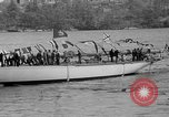 Image of Launching of the J-Class yacht, Ranger Bath Maine USA, 1937, second 41 stock footage video 65675051412