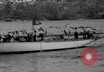 Image of Launching of the J-Class yacht, Ranger Bath Maine USA, 1937, second 43 stock footage video 65675051412