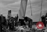 Image of Launching of the J-Class yacht, Ranger Bath Maine USA, 1937, second 48 stock footage video 65675051412
