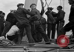 Image of Launching of the J-Class yacht, Ranger Bath Maine USA, 1937, second 55 stock footage video 65675051412