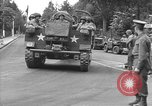 Image of American half tracks Normandy France, 1944, second 9 stock footage video 65675051423