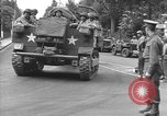 Image of American half tracks Normandy France, 1944, second 10 stock footage video 65675051423