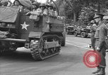 Image of American half tracks Normandy France, 1944, second 12 stock footage video 65675051423