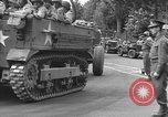 Image of American half tracks Normandy France, 1944, second 13 stock footage video 65675051423