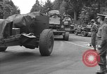 Image of American half tracks Normandy France, 1944, second 16 stock footage video 65675051423