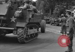 Image of American half tracks Normandy France, 1944, second 24 stock footage video 65675051423