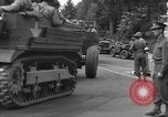Image of American half tracks Normandy France, 1944, second 25 stock footage video 65675051423