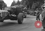 Image of American half tracks Normandy France, 1944, second 27 stock footage video 65675051423