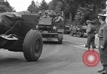 Image of American half tracks Normandy France, 1944, second 28 stock footage video 65675051423