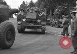 Image of American half tracks Normandy France, 1944, second 29 stock footage video 65675051423
