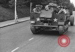 Image of American half tracks Normandy France, 1944, second 30 stock footage video 65675051423