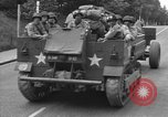 Image of American half tracks Normandy France, 1944, second 31 stock footage video 65675051423