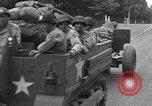 Image of American half tracks Normandy France, 1944, second 32 stock footage video 65675051423