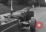 Image of American half tracks Normandy France, 1944, second 33 stock footage video 65675051423