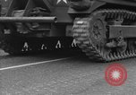 Image of American half tracks Normandy France, 1944, second 37 stock footage video 65675051423
