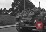 Image of American half tracks Normandy France, 1944, second 43 stock footage video 65675051423