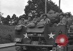 Image of American half tracks Normandy France, 1944, second 44 stock footage video 65675051423