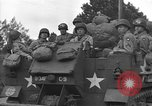 Image of American half tracks Normandy France, 1944, second 45 stock footage video 65675051423