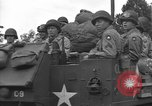 Image of American half tracks Normandy France, 1944, second 46 stock footage video 65675051423