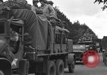 Image of American half tracks Normandy France, 1944, second 50 stock footage video 65675051423