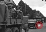 Image of American half tracks Normandy France, 1944, second 51 stock footage video 65675051423