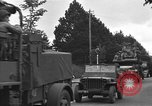 Image of American half tracks Normandy France, 1944, second 52 stock footage video 65675051423