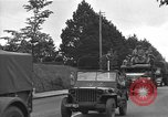 Image of American half tracks Normandy France, 1944, second 53 stock footage video 65675051423