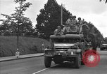 Image of American half tracks Normandy France, 1944, second 57 stock footage video 65675051423