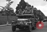 Image of American half tracks Normandy France, 1944, second 58 stock footage video 65675051423