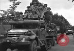 Image of American half tracks Normandy France, 1944, second 59 stock footage video 65675051423