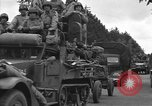 Image of American half tracks Normandy France, 1944, second 60 stock footage video 65675051423