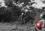 Image of German soldiers Cherbourg Normandy France, 1944, second 42 stock footage video 65675051433