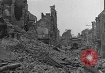 Image of damaged buildings Cherbourg Normandy France, 1944, second 3 stock footage video 65675051434