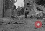Image of damaged buildings Cherbourg Normandy France, 1944, second 7 stock footage video 65675051434