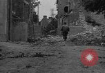 Image of damaged buildings Cherbourg Normandy France, 1944, second 10 stock footage video 65675051434