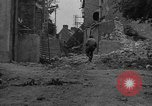 Image of damaged buildings Cherbourg Normandy France, 1944, second 12 stock footage video 65675051434
